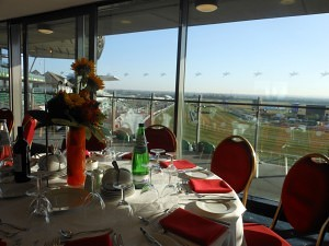 Grand National hospitality in the corbiere suite