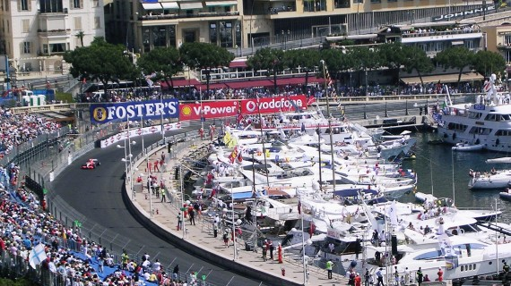 Monaco Grand Prix Hospitality and yacht packages