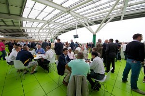 Oval Cricket Hospitality at the OCS Stand Lounges