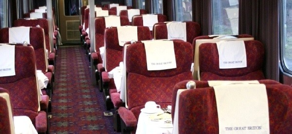 Great Briton pullman train package to edgebaston