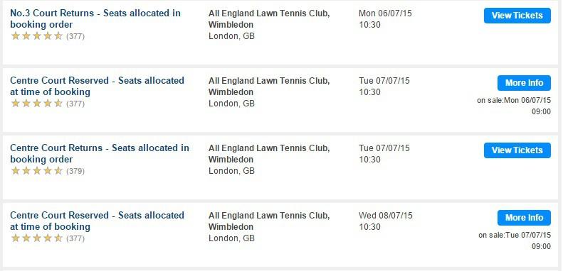 how to get wimbledon tickets