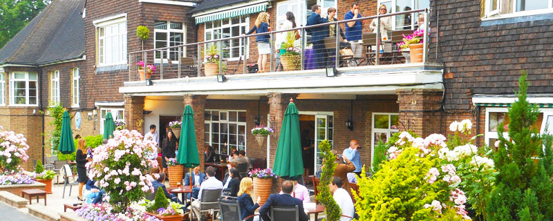 Lakeview restaurant hospitality at Wimbledon