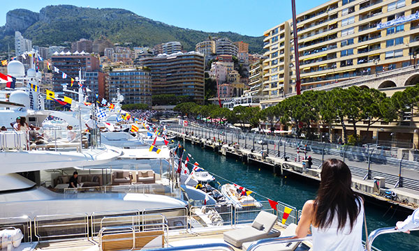 Monaco GP Yacht Hospitality Packages