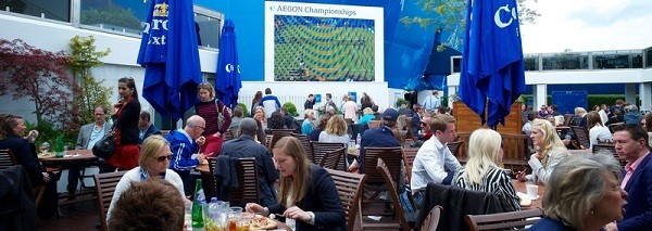 tennis hospitality at queens club