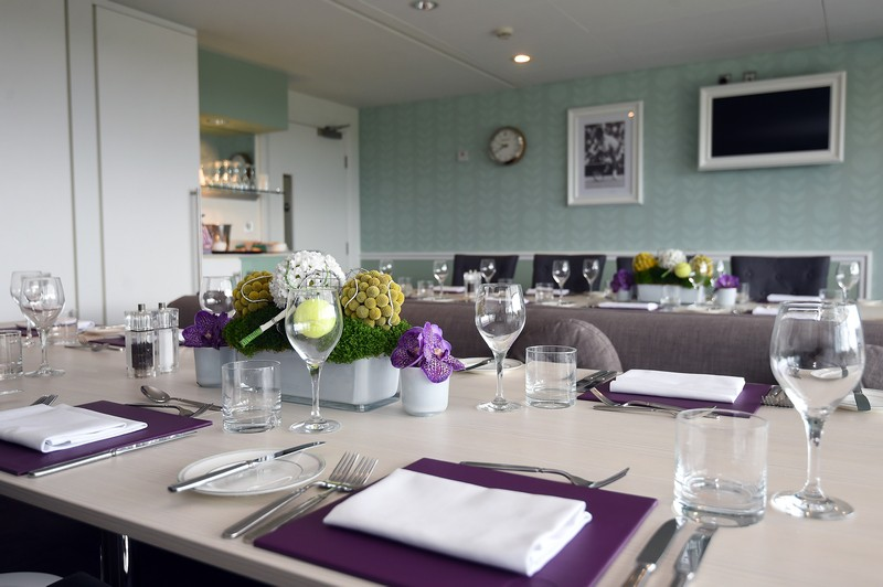 Centre Court Skyview Suites hospitality at Wimbledon