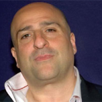Omid Djalili at the Football Legends Christmas party