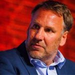 Paul Merson at the Football Legends Party